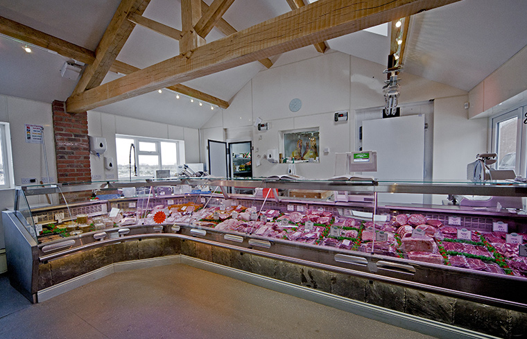 Tancred Farm Shop Meat Counter
